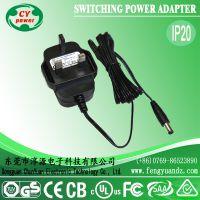 供应英规12V 2A开关电源,空气净化器电源,铜丝灯串电源,监控电源
