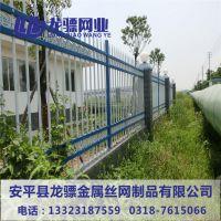 道路护栏 新疆铁艺护栏 防盗铁艺围墙