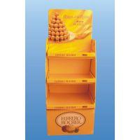 供应食品展架、食品类堆头、纸质货架、纸展示架