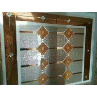 甘肃兰州厂家定制 夹丝加沙雕 多工艺结合艺术拼镜 时尚背景墙玻璃