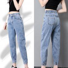 昆明的服装批发市场厂家直销韩版新款牛仔裤时尚破洞牛仔短裤批发