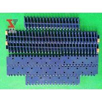 塑料链板模块网带凸点防滑食品运输清洗挡板提升输送网链