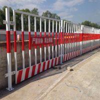 本厂供应施工工地临时临边基坑防护网 泥浆池边安全防护栏 建筑喷塑栏