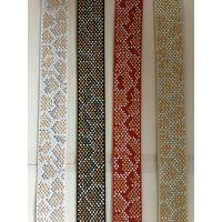 烫钻织带,松紧带,PP织带,按客户要求排列。