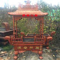 厂家直销铸铁长方形四龙柱香炉祠堂旅游景区佛道教香炉