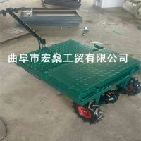 松阳县移动方便温室大棚蔬菜运输车 体积小拉货快运货车