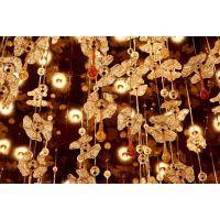 品牌 中元之光 现代中式椭圆形水晶售楼部酒店会所工程非标定制吊灯具厂家