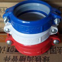 迈克管件 迈克球墨铸铁管件 DN114喷白塑刚卡 饮用水专用