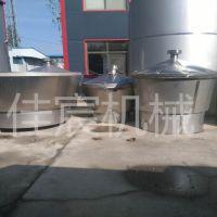 甘肃不锈钢酒容器 小型家庭作坊用酿酒设备多少钱一套