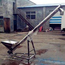 铁粉用螺旋提升机 兴运角度可调大米小米菜籽用提升机
