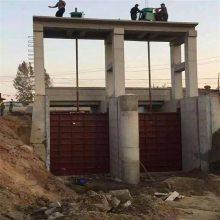 水电站成品铸铁闸板1.2米*1.5米含手动启闭设备螺杆启闭机供应价格