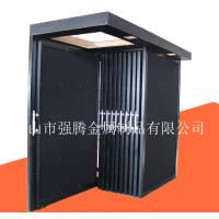 强力推荐推拉式瓷砖样品展示架子 可定做铁板墙砖展厅货架