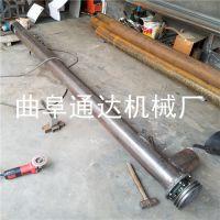 通达供应 U型绞龙提升机多管径螺旋上料机 塑料颗粒输送机