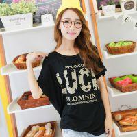 几块钱女装 新款韩版女式T恤 夏装上衣 外贸女装短袖t恤 打底衫地摊货源