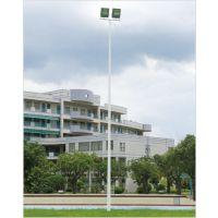 江门高杆灯6米-15米批发 校园球场照明灯杆颜色定制 柏克灯具直销