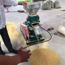 养殖加工颗粒机 润丰 电机直连饲料加工机 小型压粒机
