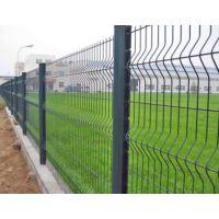 广州东莞浸塑围栏网三角折弯护栏小区围栏网园林景观桃形柱围网