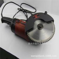 双轮异向切割锯钢铝铜万能切割锯 汽油机动双轮异向切割锯