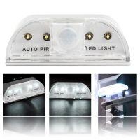 LED红外感应门锁灯 智能感应开锁小夜灯 L0403 电池款灯