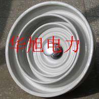 普通型高压线路盘形悬式瓷绝缘子XP-70C U70C河间华旭电力器材生产商低价批发售优质产品
