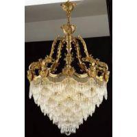 专业灯定制别墅 高端客厅欧式全铜 脱蜡铜LED吊灯