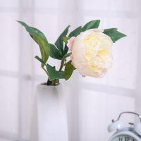 新款仿真花束客厅摆式仿真植物牡丹仿真花 茶几卧室摆件厂家批发