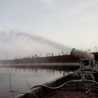 KCS400环保雾炮机 30米远射程除尘风机 山东临沂双利环保厂家直销
