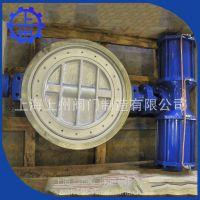 厂家生产销售上海上州 衬氟法兰蝶阀 涡轮伸缩蝶阀
