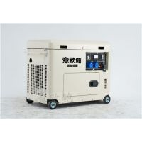 7kw车载柴油发电机静音式