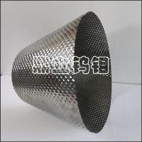 宝鸡鼎立 设计制作 方形凸凹导流筒 钼导流筒