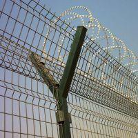 机场铁丝网围栏 监狱刺丝防护网 铁蒺藜防护网围栏厂家直销