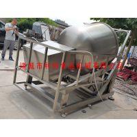 卧式倾斜滚揉机 液压升降真空滚揉机 肉类加工专用设备