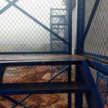 桥梁安全爬梯施工爬梯通达厂家提供安装