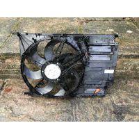 宝马mini迷你汽车电子扇 冷却风扇 水箱 冷凝器 散热网 空调管