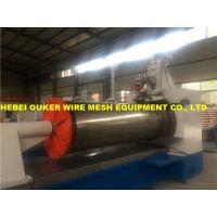 欧科楔形丝筛网生产加工设备,条缝绕丝筛管加工生产设备