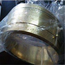 厂家直销H65黄铜扁线 环保拉链黄铜扁线