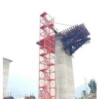 内蒙古批泽晟新式施工安全爬梯 香蕉式安全爬梯 安全可靠 安装简单快捷