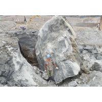 绵阳边坡开挖破石快岩石破碎劈裂棒