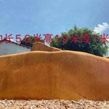 三亚市景观石 旅游度假区刻字石 中心广场风景石黄蜡石