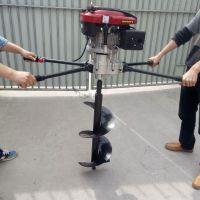 佳鑫各种果树施肥钻眼机 苗木植树挖坑机哪个品牌好用 拖拉机大马力打眼机