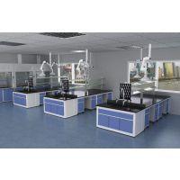 全钢结构中央实验台 钢木实验边台工作台 实验室整体规划