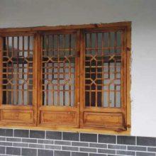 成都的中式门窗 实木仿古门窗厂家哪家好?优选惠森古建