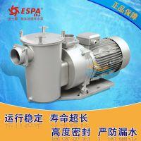 不锈钢2HP循环水泵【价格实惠 质保三年】大功率亚士霸过滤泵