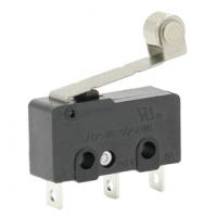三博荣专业生产长寿命带滚轮微动开关 带压柄 小中微动鼠标开关