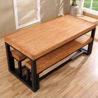 倍斯特 现代中式实木餐桌 经典特色面馆中餐桌椅 厂家定制