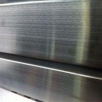佛山现货201不锈钢黑钛拉丝管、6米真空电镀不锈钢黑钛金彩色管