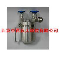 中西(CXZ特价)液氨取样器(1000ml) 型号:WJ3-BPA-1000库号:M51643