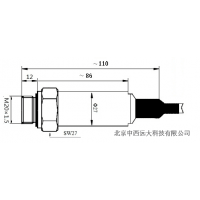 中西压力变送器 型号:MK29/MPM489[0~1MPa]5E22库号:M244104