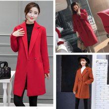 便宜呢子大衣库存尾货毛呢外套韩版时尚女装冬季呢子外套批发