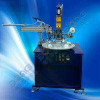 BM-195C6六工位转盘式自动下料平面烫金机烫银机全自动烫印机多工位转盘圆盘烫金机